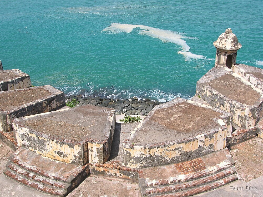 View from Above-El Morro by Swan Diaz