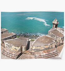 View from Above-El Morro Poster