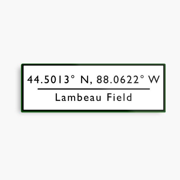 Lambeau Field Metal Print