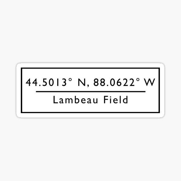 Lambeau Field Sticker