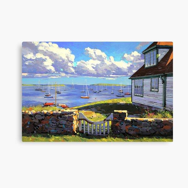 """""""Gateway To Summer"""" (Chester, Nova Scotia) Canvas Print"""