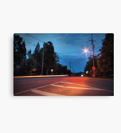 Route 118 (Lehman Center) Canvas Print