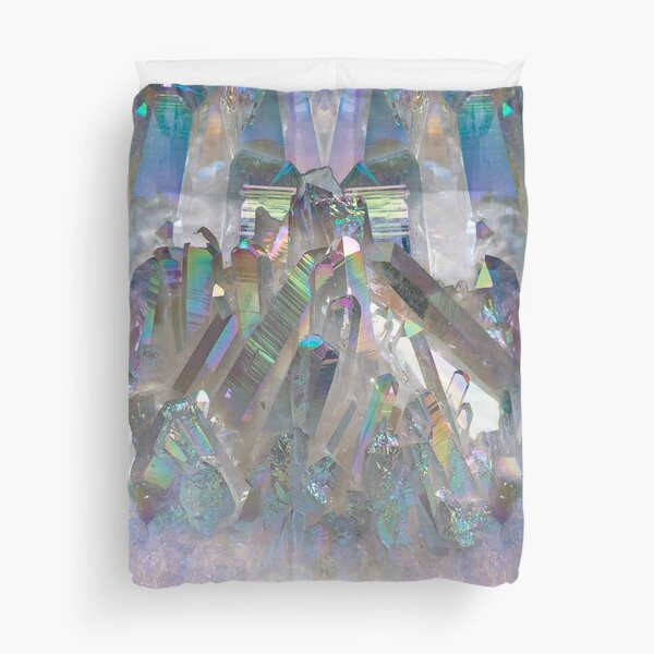 Rainbow Holographic  Duvet Cover