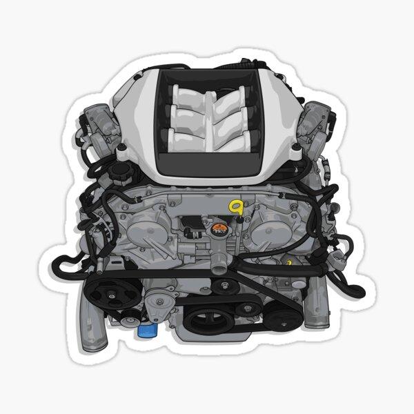 Vr38 Motor Aufkleber Sticker