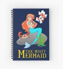 The Misty Mermaid Spiral Notebook