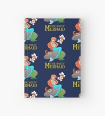 The Misty Mermaid Hardcover Journal