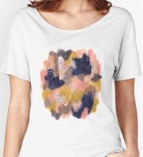 Vernal Abstract  Relaxed Fit T-Shirt