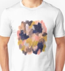 Vernal Abstract  Slim Fit T-Shirt