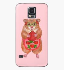 A Cute Hamster and a Strawberry Case/Skin for Samsung Galaxy