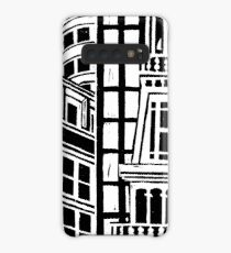 City Landscape Black and White Case/Skin for Samsung Galaxy