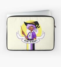 I was sorted into the Non-Binary House Laptop Sleeve