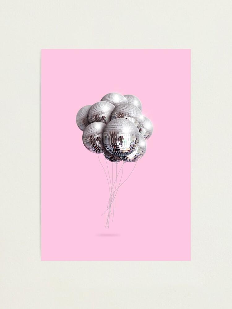 Alternate view of Disco balloons Photographic Print