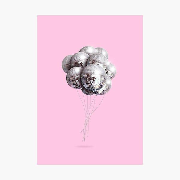 Disco balloons Photographic Print