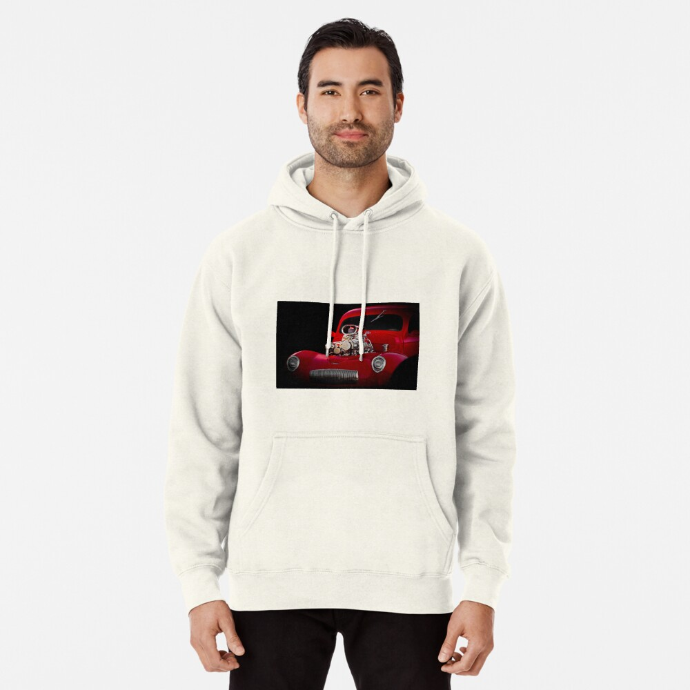 1941 Willys 'Blown' Coupe Pullover Hoodie