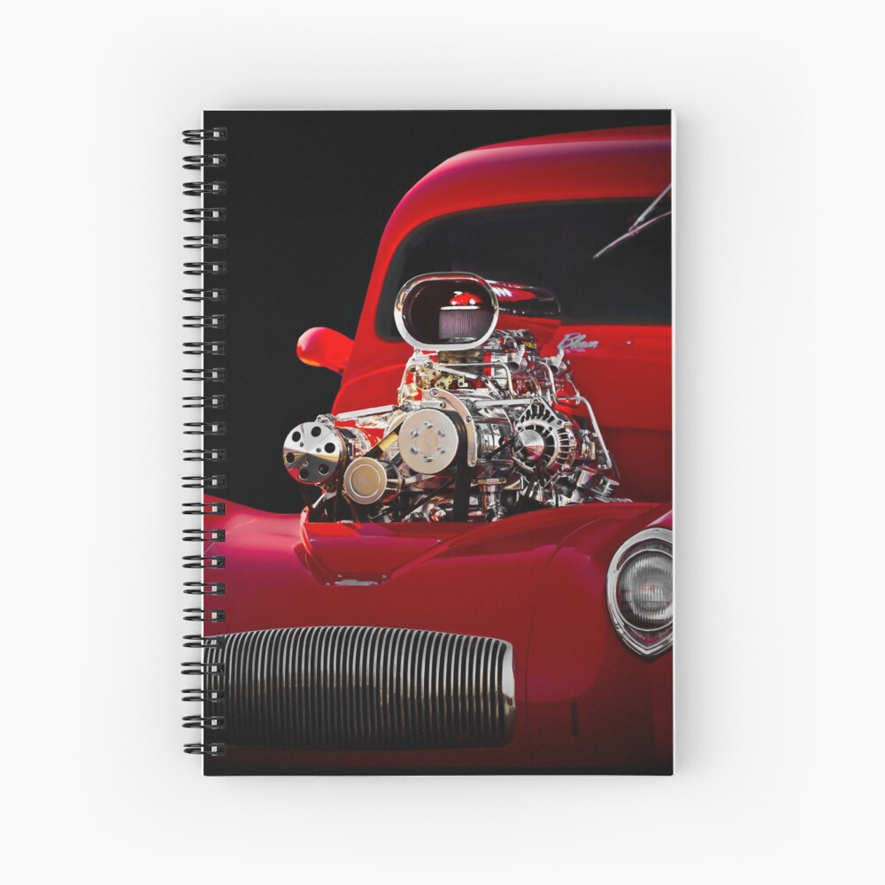 1941 Willys 'Blown' Coupe Spiral Notebook