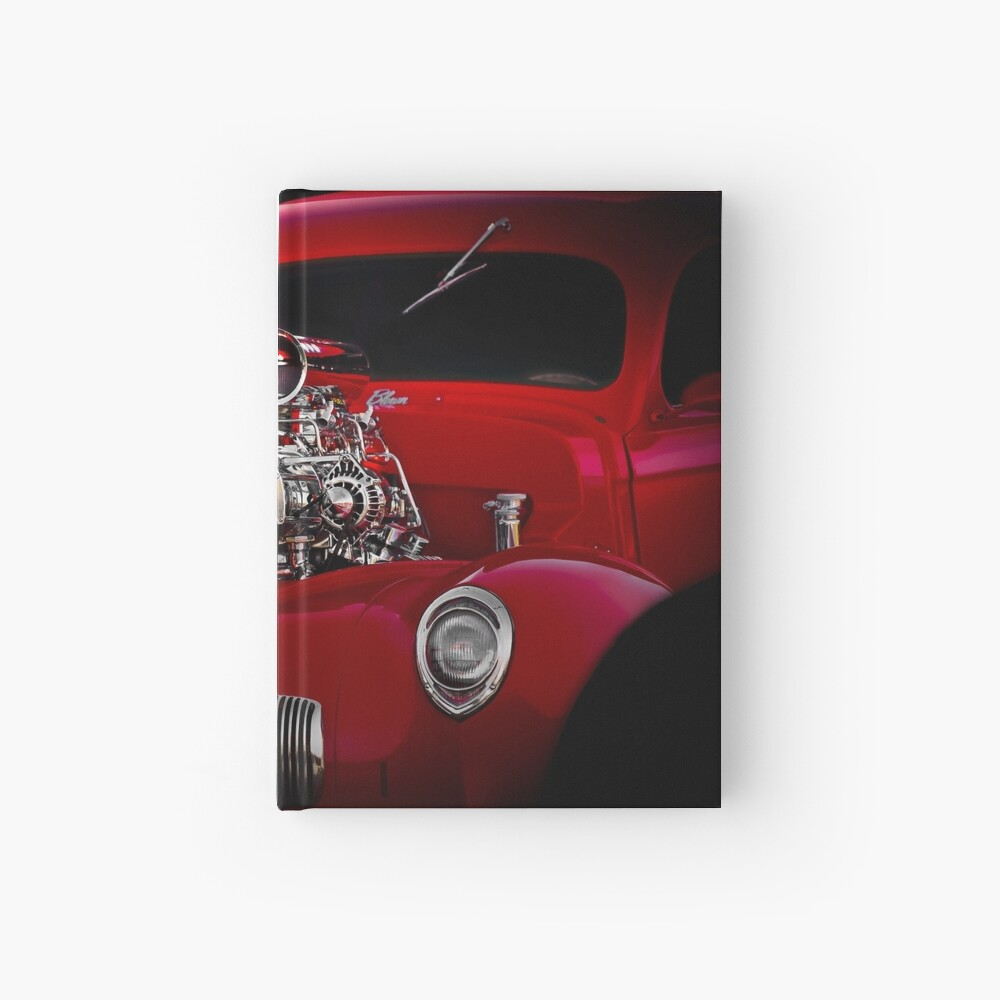 1941 Willys 'Blown' Coupe Hardcover Journal