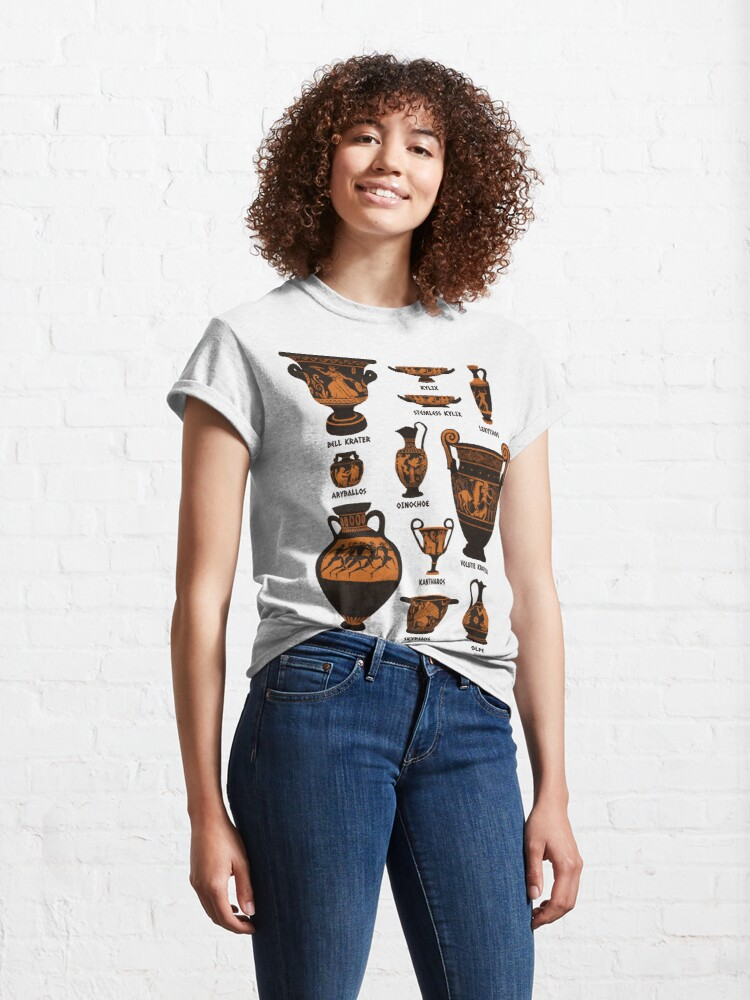 Alternate view of Ancient Greek Pottery Classic T-Shirt