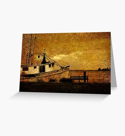 Living in the past Greeting Card