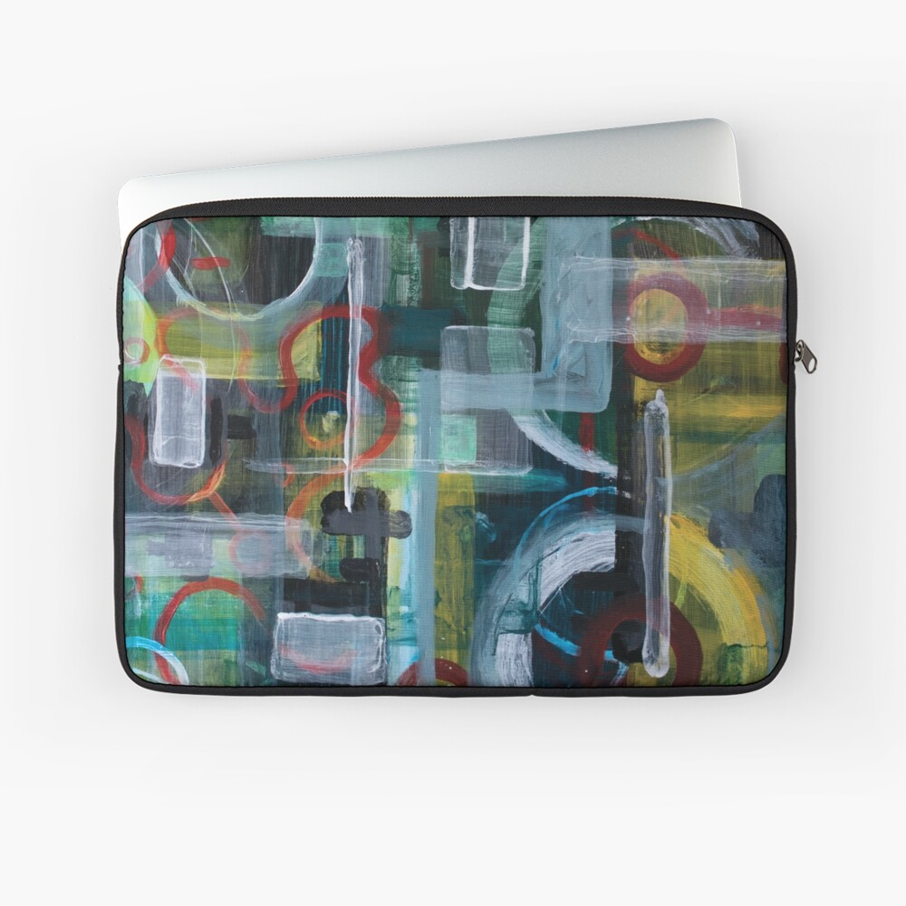 Abstract 1017 Laptop Sleeve