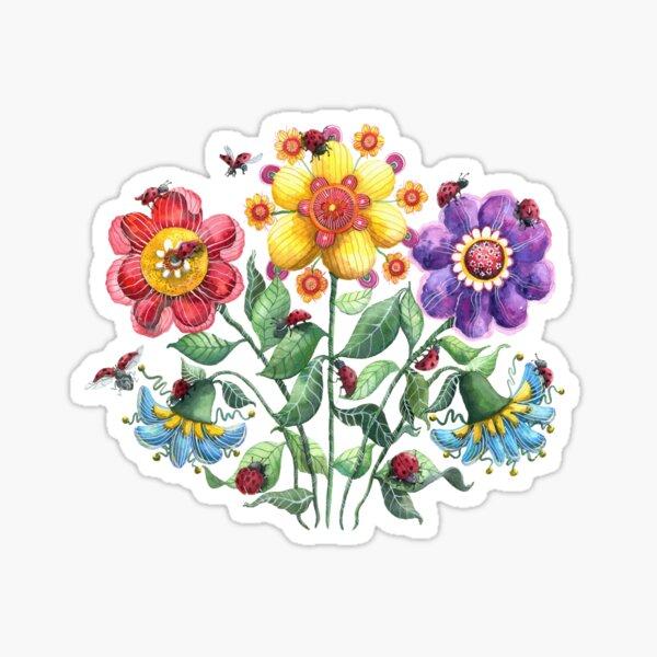 Ladybug Playground Sticker