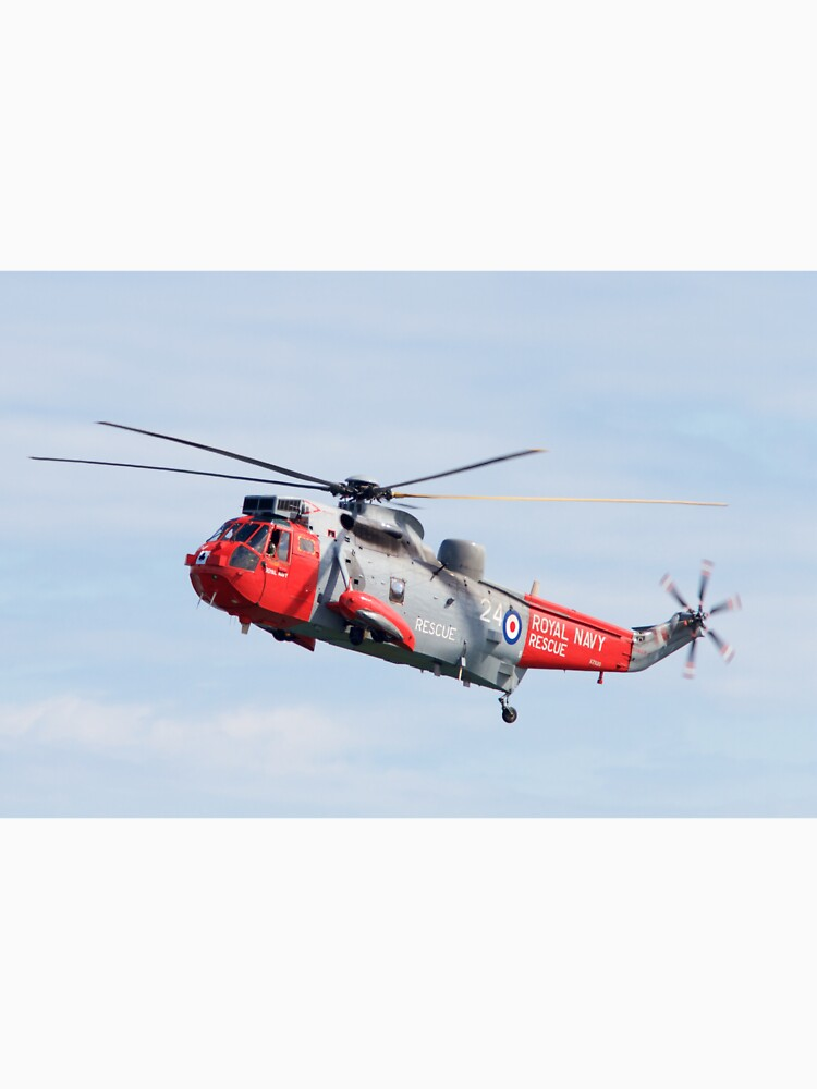 Royal Navy Sea King Rescue Helicopter by robcole