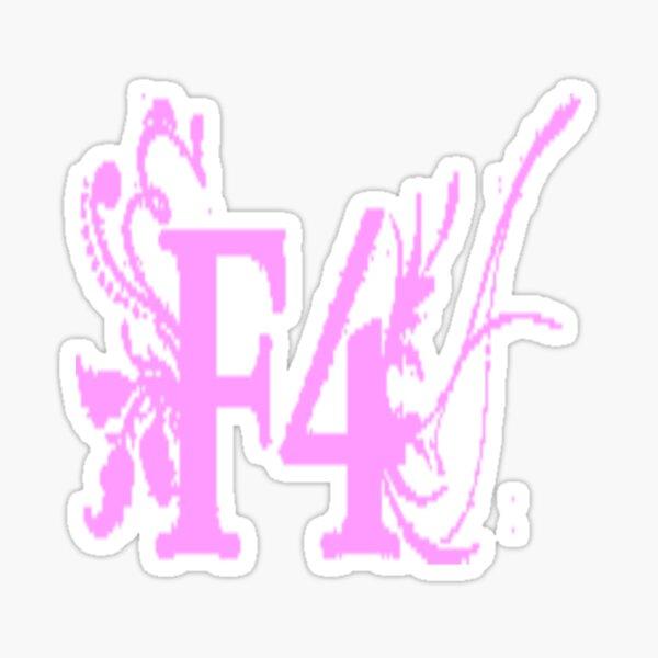F4 Boys Over Flowers Sticker