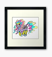 80's Pony Framed Print