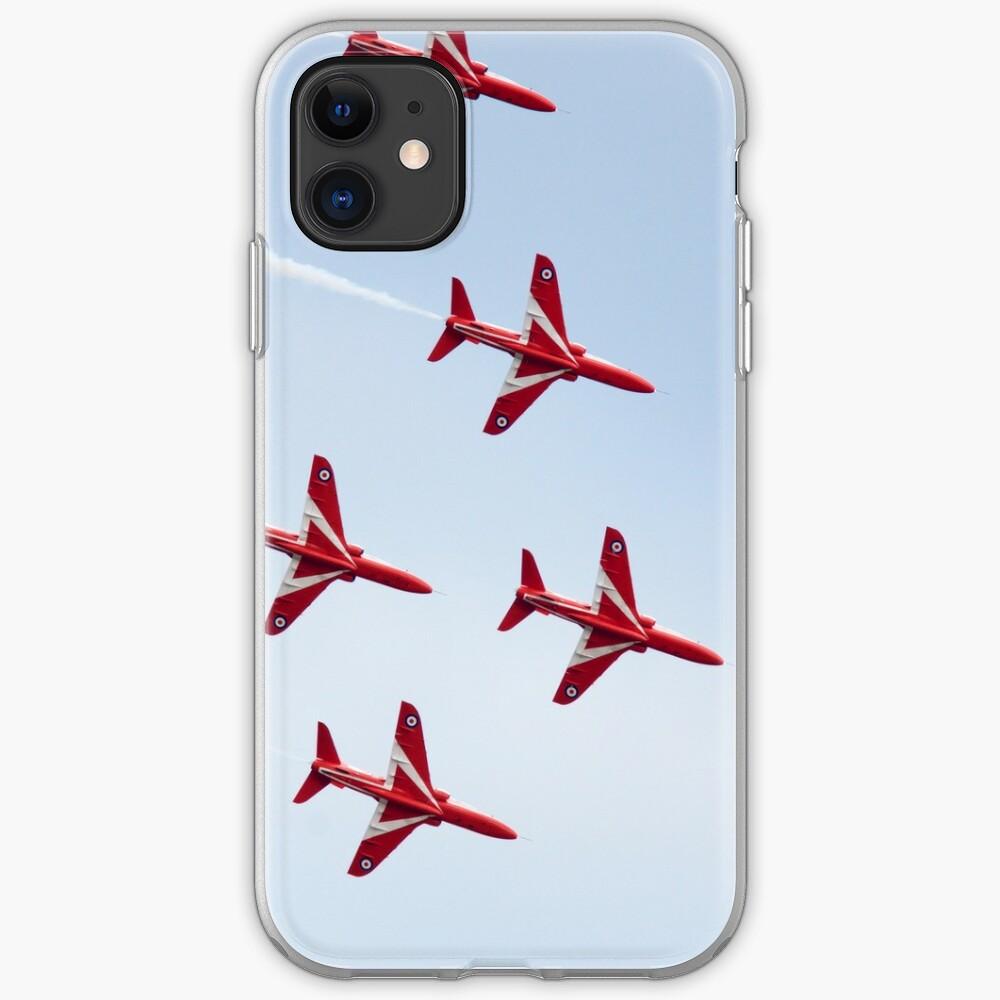 RAF Red Arrows Aerobatics Display Team iPhone Case & Cover