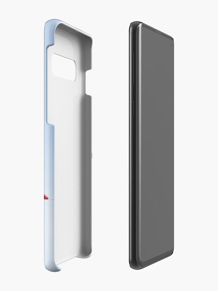 Alternate view of RAF Red Arrows Aerobatics Display Team Case & Skin for Samsung Galaxy