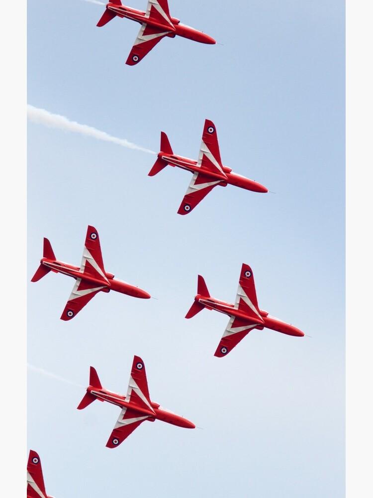RAF Red Arrows Aerobatics Display Team by robcole
