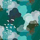 M + M Smaragdwald Vogelperspektive von Friztin von friztin