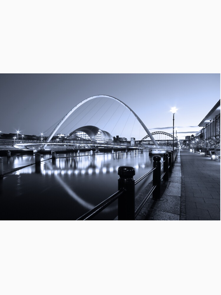 Newcastle Quayside and Millennium Bridge by robcole