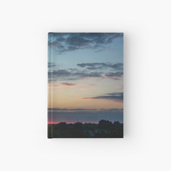 Summer Solstice Sunset  Hardcover Journal