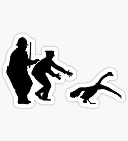 The Swan's Escaped Sticker