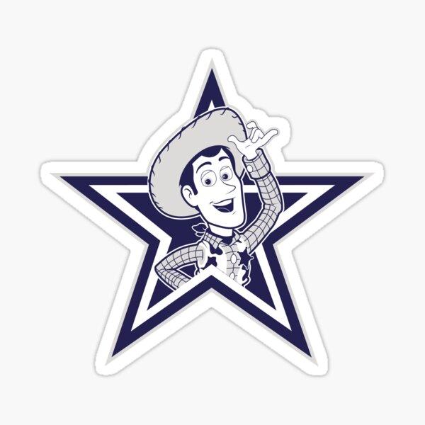 Dallas Woody's Sticker