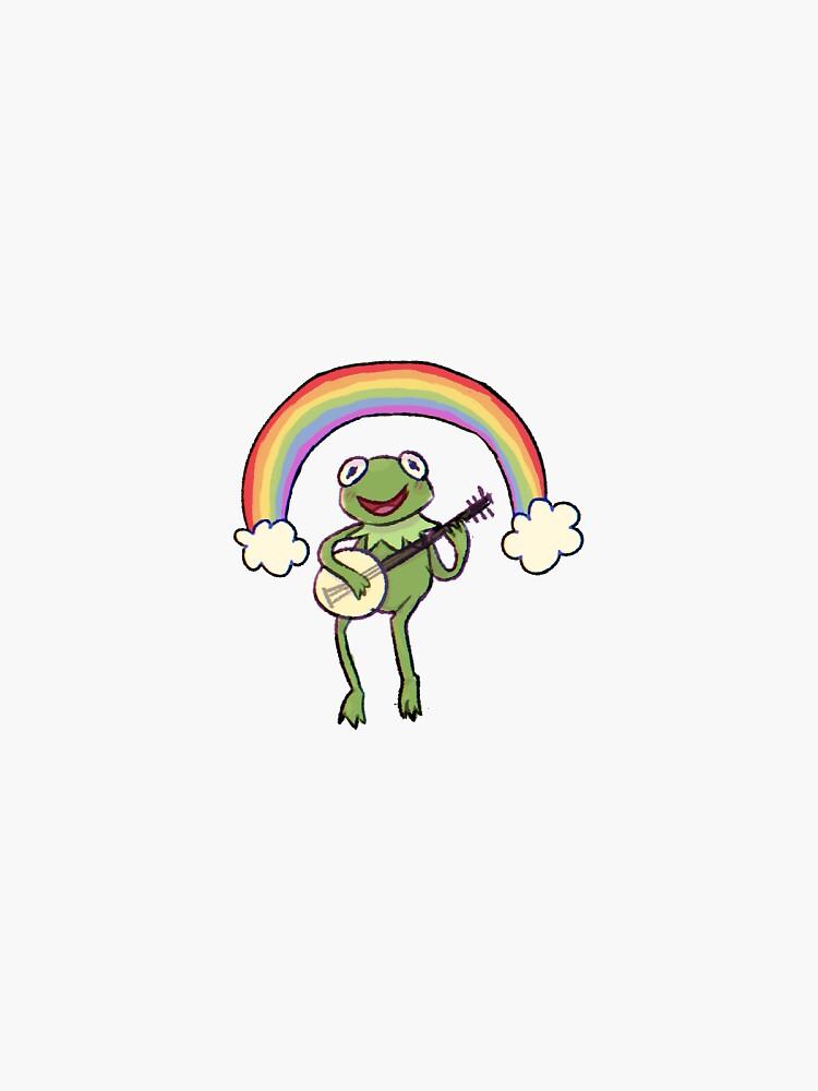 """Rainbow Kermit""  by Gretu"