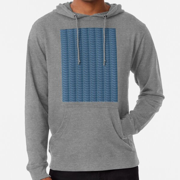 #Fish, #pattern, #abstract, #wallpaper, aluminum, design, net, architecture, weaving, steel Lightweight Hoodie