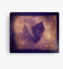 origami chatterbox Canvas Print