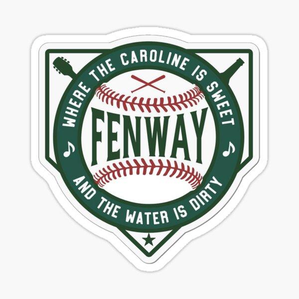 Boston Fenway Sweet Caroline Dirty Water Sticker