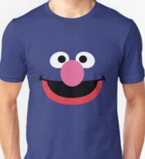 Grover face art geek funny nerd T-Shirt
