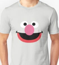 Grover face art geek funny nerd T-Shirt