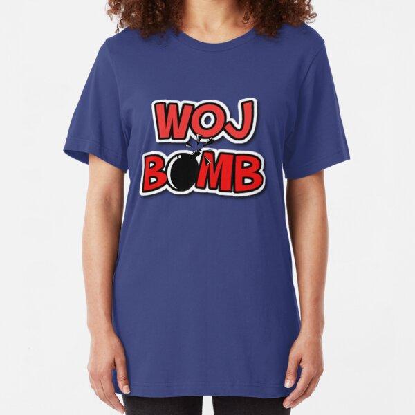Woj Bomb NBA Slim Fit T-Shirt Unisex Tshirt