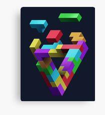 Penrose Tetris Canvas Print