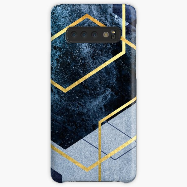 Navy and Gold Geo Samsung Galaxy Snap Case