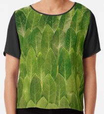Leaves - Nature Chiffon Top