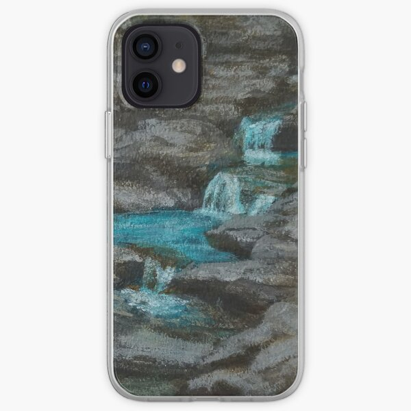 Watkins Glen Gorge by Laura Jaen iPhone Soft Case