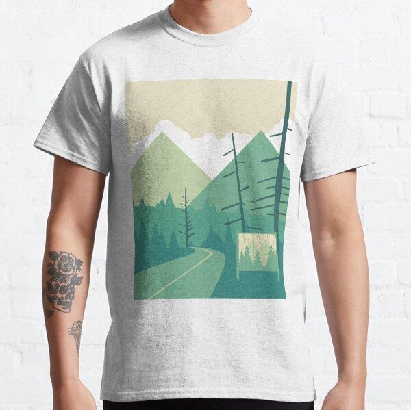 Bienvenido a Twin Peaks Camiseta clásica