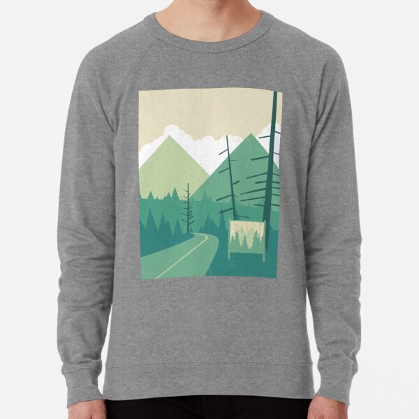 Welcome to Twin Peaks Lightweight Sweatshirt