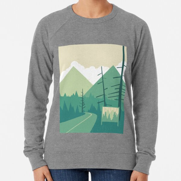 Welcome to Twin Peaks Lightweight Sweatshirt