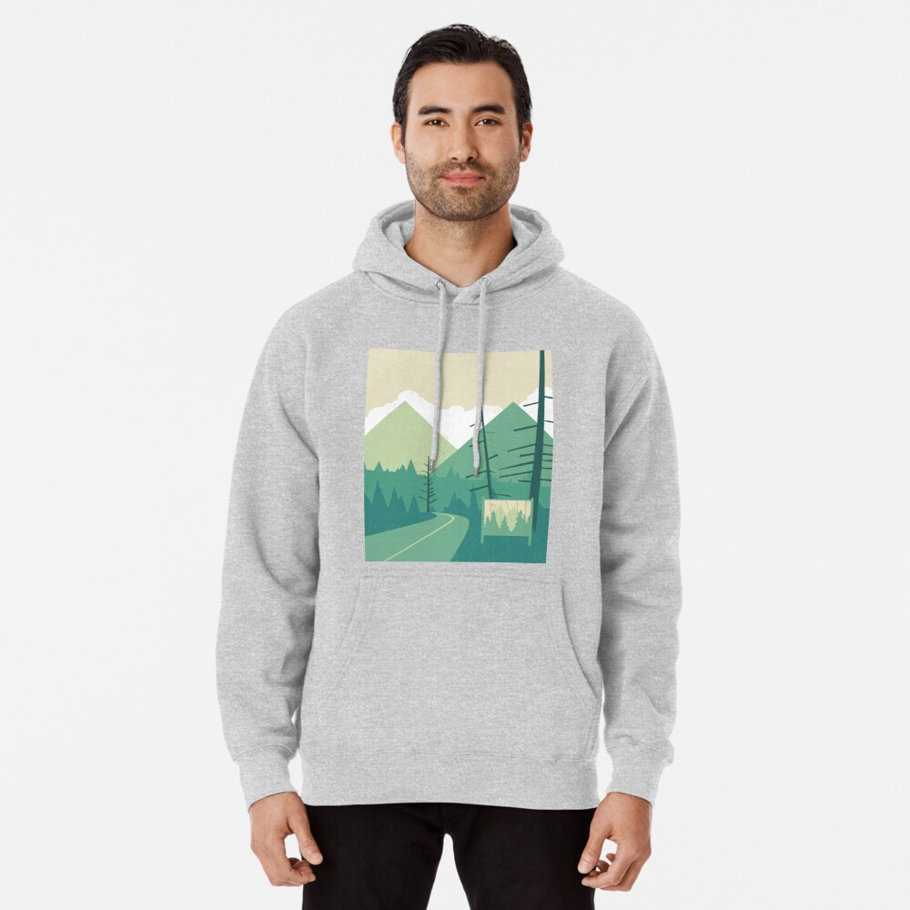 Welcome to Twin Peaks Pullover Hoodie